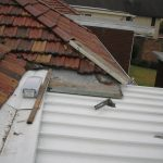 fix leaking roof joins roof tiles and corrugated iron
